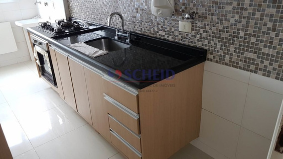 Lindo Apto, 02 Dormitórios E 01 Vaga - Mr68750