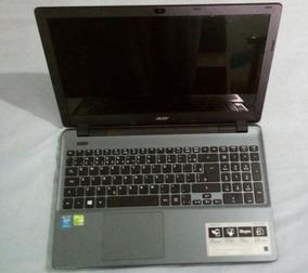 P/ Usar Peças Notebook Acer Aspire E5-571g 52b7 15 6 4gb