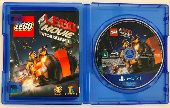 Jogo Ps4 Lego Movie Videogame Mídia Física