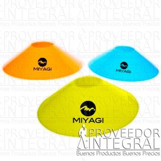 Cono Tipo Platillo X Unidad Colores Surtidos Miyagi Original