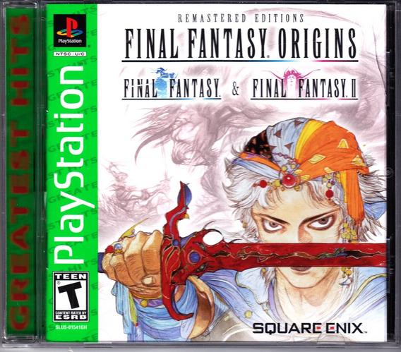 Final Fantasy Origins - Ps1 Mídia Física Lacrada Original