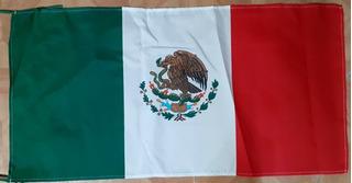 Bandera México Sublimada Lote 10 Piezas Mexicana