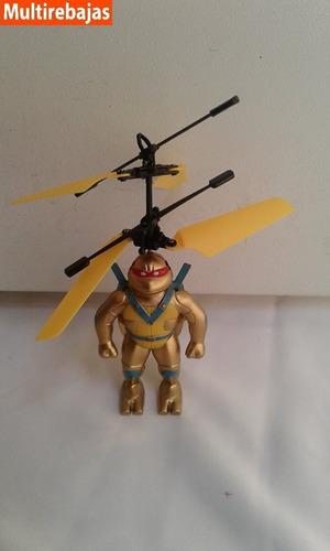 Juguete Volador Tortuga Ninja