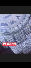 Rolex Justdate Cravejado Com Diamantes