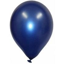 Kit Balão Cintilante Azul N 7 Com 12 Pacotes