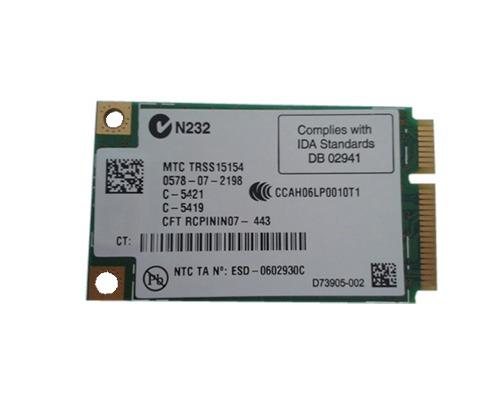 Placa Wifi Intel Mini Pci-e Wireless 4965agn Mm1