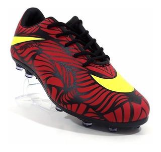 Chuteira Nike Hypervenom Phelon 2 Neymar Jr Vermelho E Amare