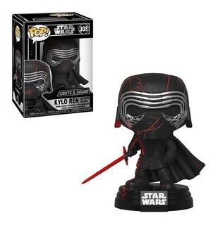 Funko Pop Kylo Ren Supreme Leader #308 Star Wars Light Sound