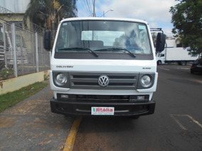 Vw 8 160 2014 Muito Novo Chassis Doc Baú Itália Caminhões