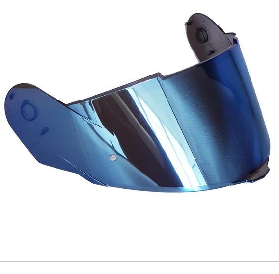 Viseira Capacete Givi 50.5 Original Iridium Azul