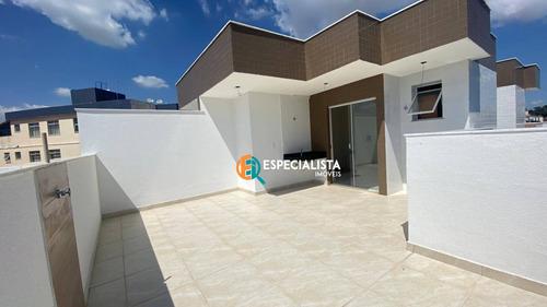 Cobertura 2 Quartos, 2 Vagas, 110 M² Por R$ 439.000 - Santa Amélia - Bh - Co0051
