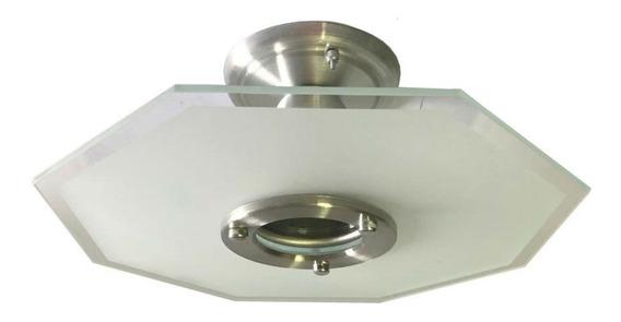 Lustre Vidro - Plafon P/ Sala, Cozinha Ou Banheiro 159j