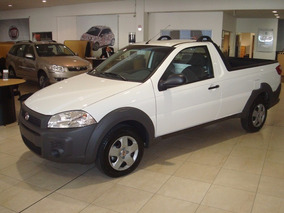 Fiat Strada Working Cabina Simple-anticipo $55.000 Y Cuotas
