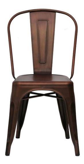 Silla Form Design Tolix Cobre