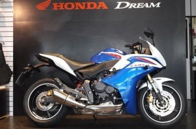 Motocicleta Honda Cbr 650 F Azul