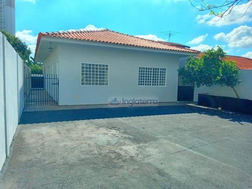 Imagem 1 de 25 de Casa Para Alugar, 150 M² Por R$ 5.000,00/mês - Santa Rosa - Londrina/pr - Ca2137