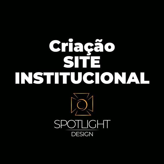 Criação Site Institucional