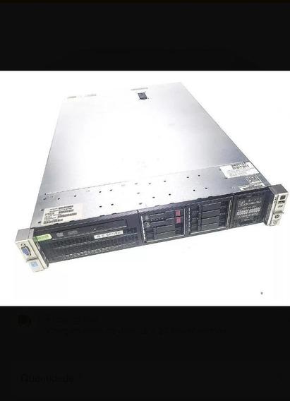 Servidor Hp Dl380p G8 Dual Xeon E5-2640 - 48gb Ram E 20tb De