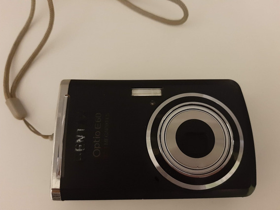 Cámara De Fotos Digital Pentax Optio E60 . Compacta . Black