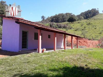 Chácara Com 1 Dormitório À Venda, 900 M² Por R$ 170.000 - Socorro - Socorro/sp - Ch0447