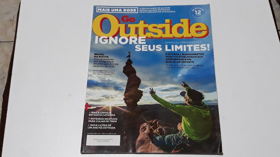 Revistas Go Outside - 4 Unid.