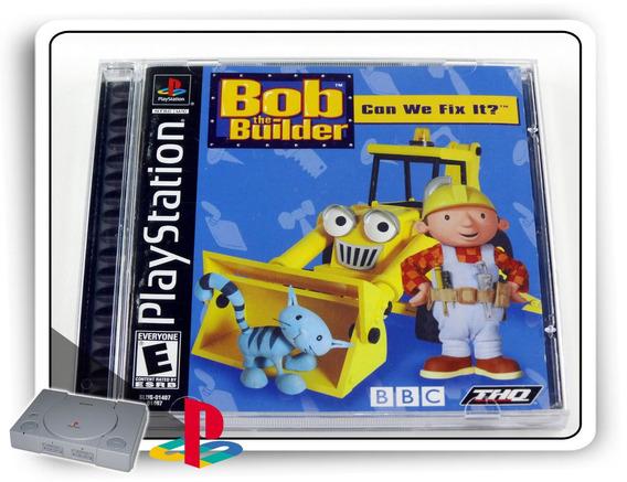 Ps1 Bob The Builder Can We Fix It Original Playstation 1