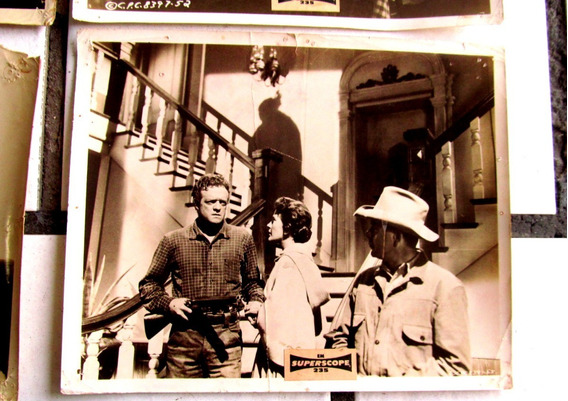 Glenn Ford Van Heflin 3:10 To Yuma 9 Foto Faroeste Valente