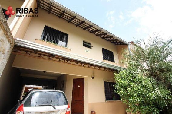 Maravilhoso Sobrado Com 4 Dormitórios À Venda, 210 M² Por R$ 850.000 - Tarumã - Curitiba/pr - So2335