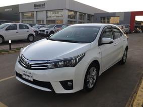 Toyota Corolla 1.8 Xei Mt Pack 140cv Blanco Año 2014