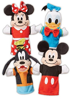 Melissa - Doug Mickey Mouse - Friends Soft - Peluche Titeres