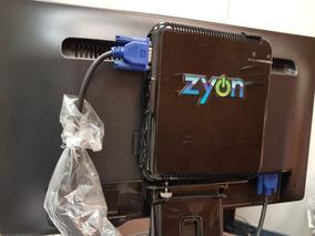 Computador Completo Pc Zyon + Monitor Benq 19+teclado E Mous