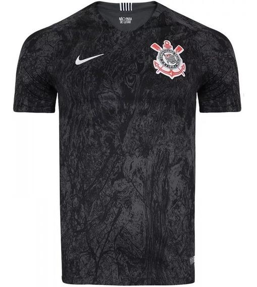 Camisa Nike Corinthians Ii 2017/2018 - Modelo Jogador