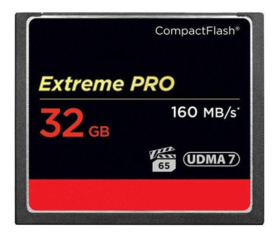Cartão Compact Flash 32gb Sandisk Extreme Pro 160mb/s Udma