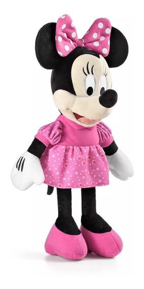 Pelúcia Minnie 33 Cm Disney Multikids