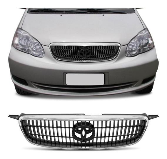 Grade Corolla Xei 2003 2004 2005 2006 2007 Moldura Cromada