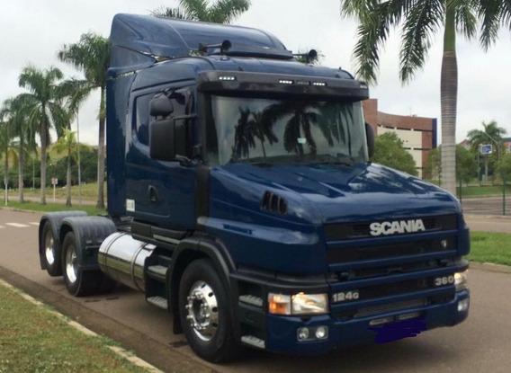 Scania T 124 360 6x2 Ano 2000 G440 R440 R410 R450 P340 P360