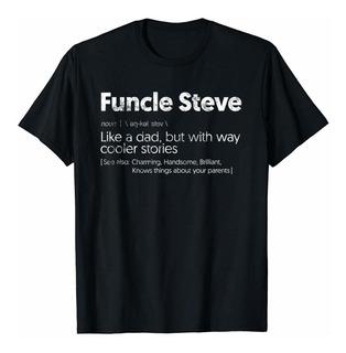 Mens Funcle Steve Tio Steve, Steven, Stevie Camiseta Peque