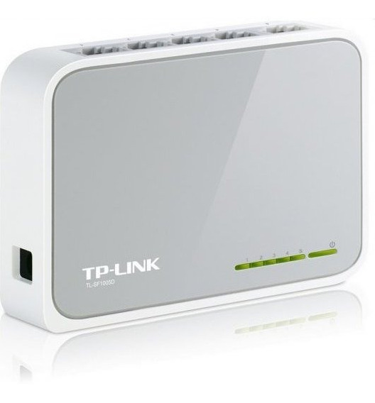Tp-link Switch 5 Puertos 10/100 Mbps Tl-sf1005d