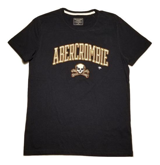 Abercrombie Remera Hombre Logo Importada Original 02