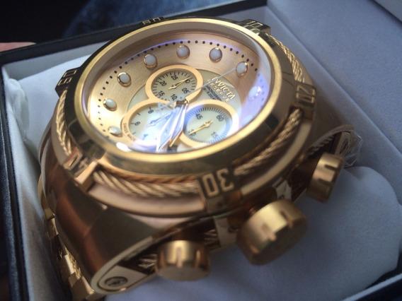 Relógio Z04 Invicta Bolt Zeus 12738 Linha Dourado 18k Promo