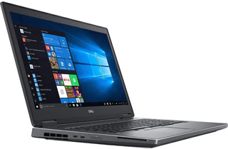 Laptop Dell Precision 7730 Core I7 8750h 16gbram 256 Ssd 17p