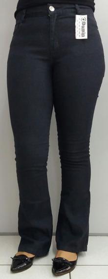 Calças Jeans Flare Boca De Sino