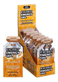 Gel Carboidrato Exceed Energy 10 Sachês Todos Os Sabores