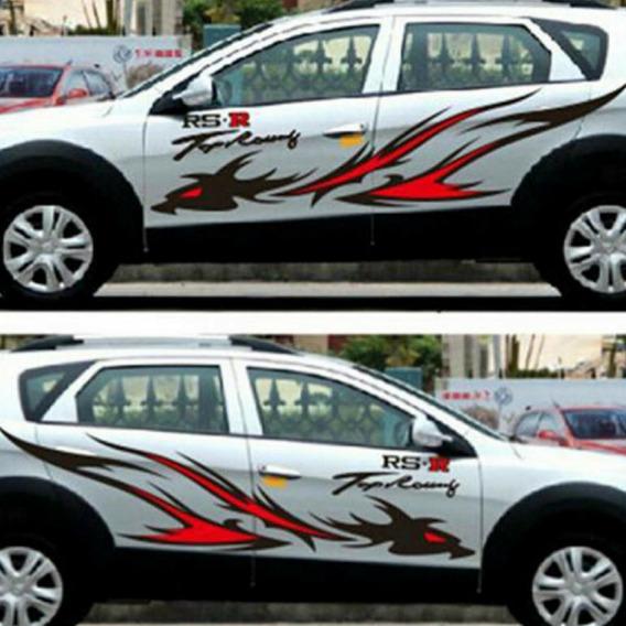 Adesivos Carro Lateral Grande Automotivo Vans E Caminhão