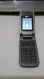 Celular LG Kp 215 D Chip Fliper Ent P/ Antena Rural Placa