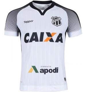 Camisa Oficial Ceara 2017/2018 Branca N10 C/patrocinios