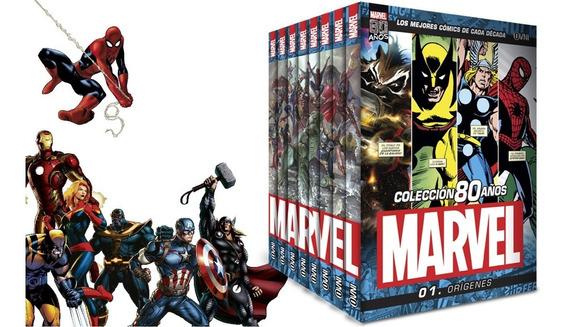 Clarín Colección Completa Marvel 80 Años