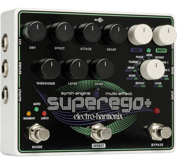 Pedal Eletro Harmonix Superego Plus Multi Efeitos Promoção!