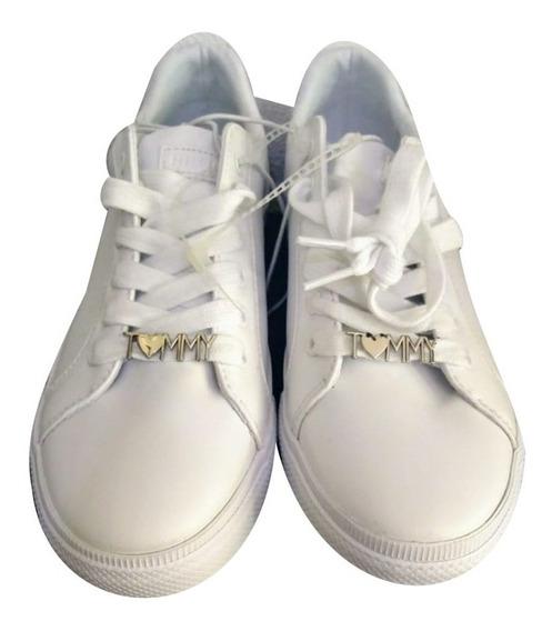 Tommy Hilfiger Sneaker Shoes Tenis Wht R