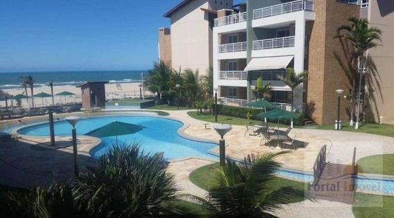 Apartamento Com 4 Dormitórios À Venda, 178 M² Por R$ 700.000 - Porto Das Dunas - Aquiraz/ce - Ap0288